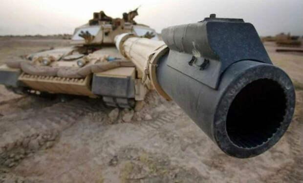 Утолщение на пушке танка: деталь, которая помогает экипажу дышать