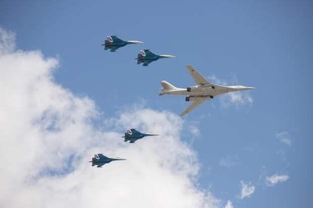 В Кремле заявили, что погода может повлиять на воздушную часть парада Победы