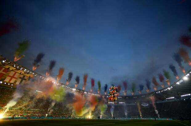 В Риме состоялась церемония открытия чемпионата Европы по футболу