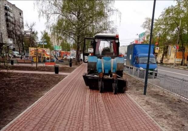 Комплексная проверка качества уборки улично-дорожной сети и придомовых территорий запланирована в Сормове на следующей неделе
