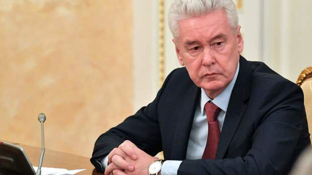Собянин обьявил обужесточении ограничений вМоскве из-за коронавируса