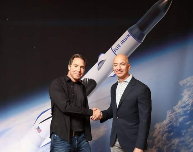 Blue Origin подписала второй контракт на пять пусков ракеты New Glenn со спутниками OneWeb