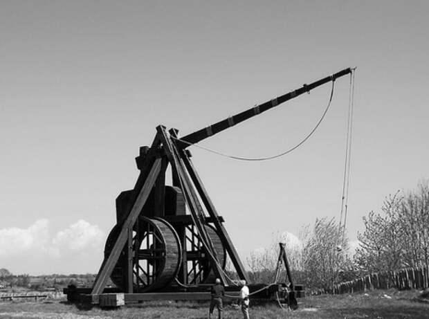 Самое массивное средневековое оружие