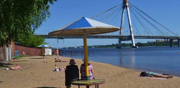 Пляжный сезон в Череповце откроют с 1 июня