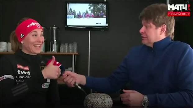 Дмитрий Губерниев взял интервью без слов
