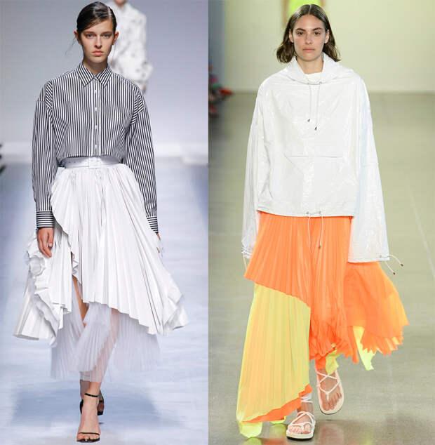Ассиметричные юбки 2019