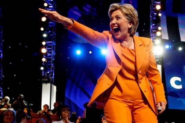 Клинтон обязалась противостоять России «заодно с Украиной»