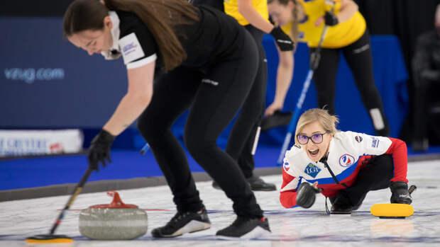 Женская сборная России проиграла Швейцарии вфинале чемпионата мира покерлингу