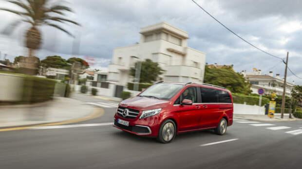 Mercedes-Benz V. Обзор автомобиля. Плюсы и минусы