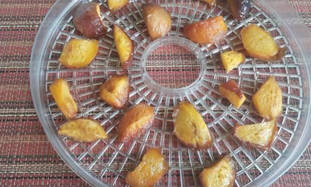 Сухое варенье из персиков по рецепту грузинской хозяйки