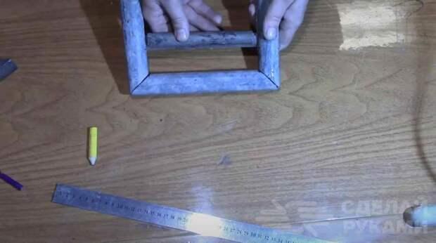Приспособление для колки кирпича по разметке