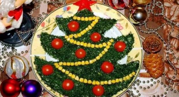 Украшение салатов на Новый 2021 год: как украсить, самые лучшие идеи16