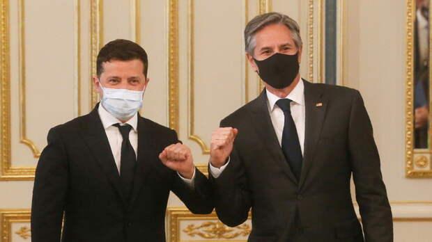 Блинкен назвал продуктивным свой визит в Киев