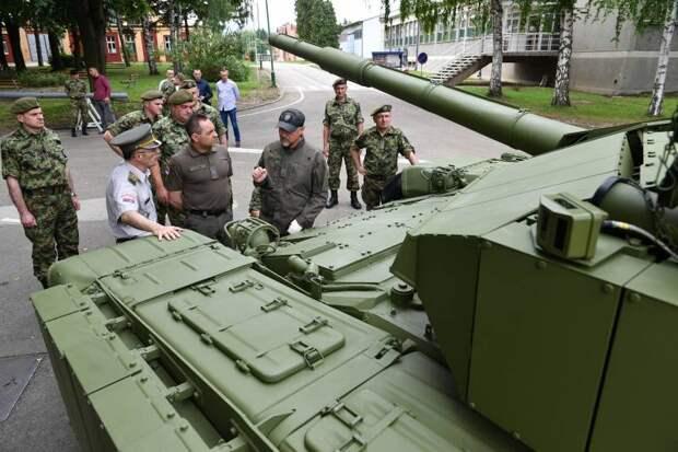 Сербия готовится к модернизации танков М-84