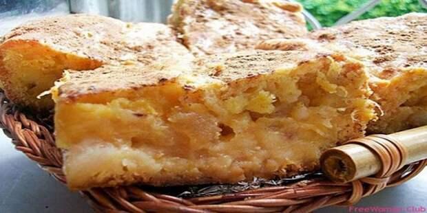 Бабка с яблоками нежнее, вкуснее и ароматнее любой шарлотки