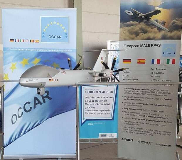 Ударный беспилотник Евросоюза. Eurodrone MALE