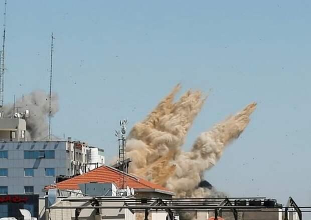 """Израильские военные рассказали, как ХАМАС использовал уничтоженную """"медиабашню"""" в Газе"""