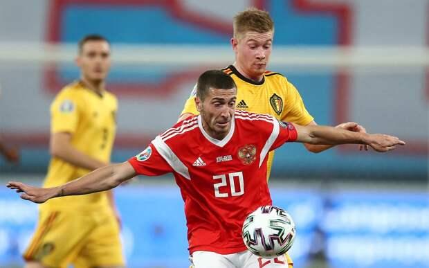 В сборной Бельгии ожидают, что Де Брейне пропустит матч с Россией на Евро