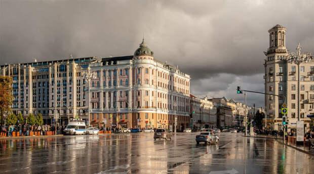 Вся неделя в Москве будет дождливой