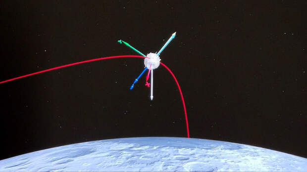 "Китайский зонд ""Чанъэ-5"" совершил посадку на поверхность Луны"