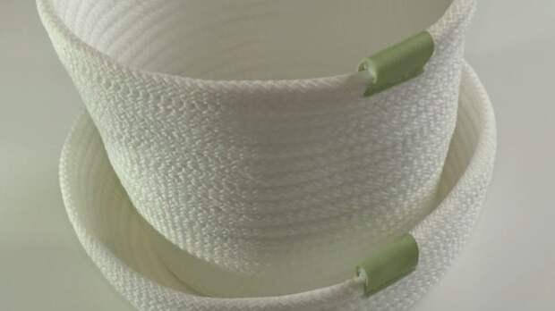 Бюджетная идея для уюта: интерьерная корзинка из шнура