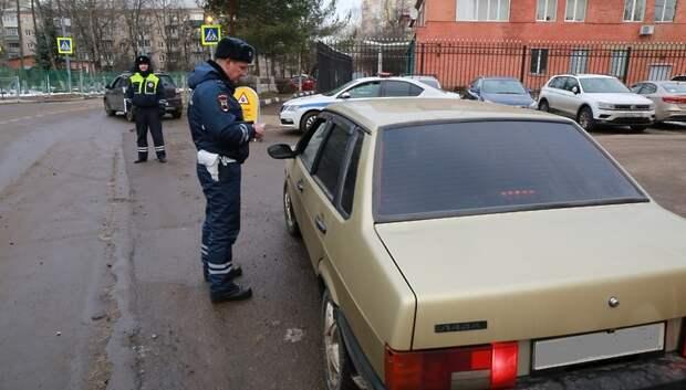 Семерых водителей привлекли к ответственности в Подмосковье за отсутствие масок