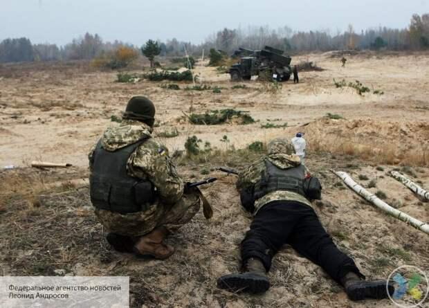 Наблюдатели ЛНР зафиксировали инсценированный обстрел со стороны ВСУ