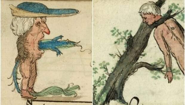 30 странных и жутковатых иллюстраций из песенника XVIвека