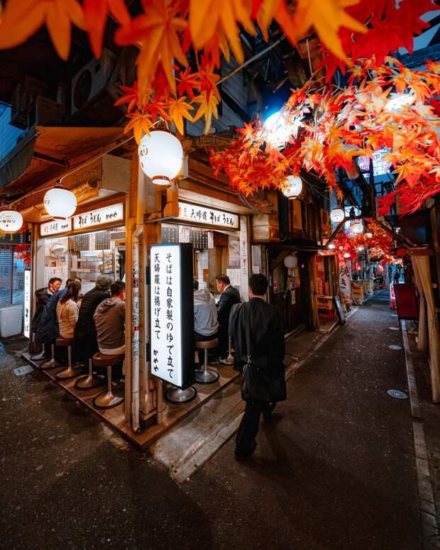 На улицах Токио