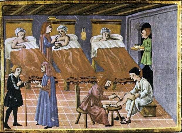 Средневековая больница