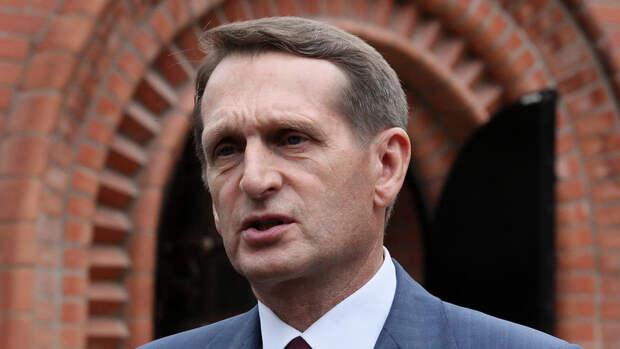 Глава СВР посетовал на стремление Великобритании к конфронтации с Россией