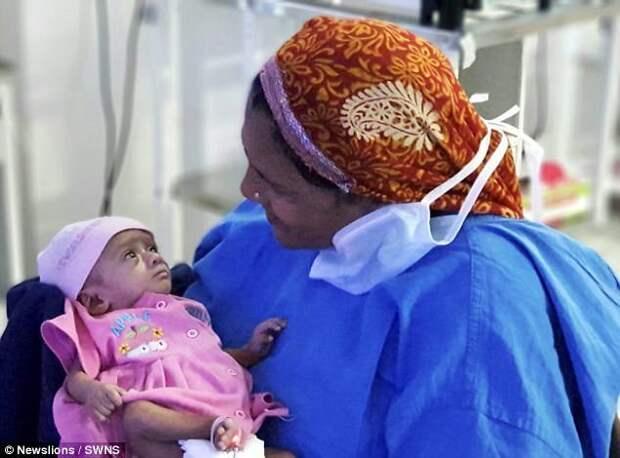 """Больница """"Дживанте"""" снизила стоимость лечения в связи с низким доходом семьи девочки ynews, дети, медицина, новорожденные, новости, ребенок, спасение, фото"""