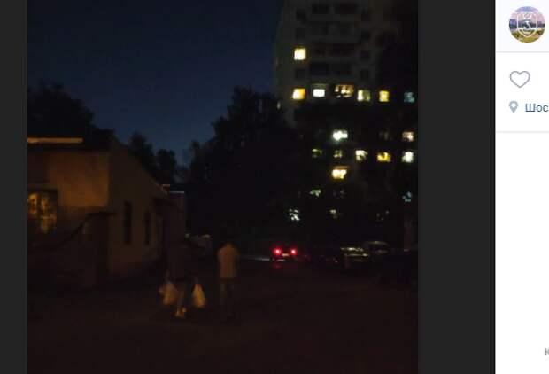 Новые опоры уличного освещения появятся на Шоссейной до 15 декабря — префектура