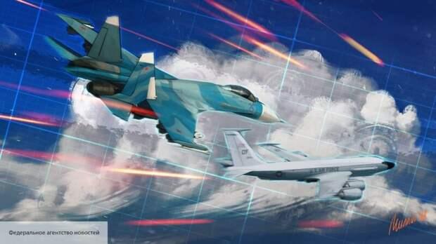 Sohu: «воздушный скальпель» Су-27 напугал военных НАТО в Баренцевом море