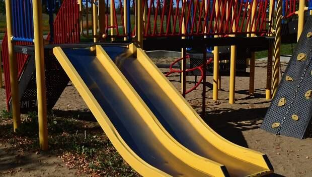 Свыше 10 тыс детских площадок продезинфицировали в Подмосковье