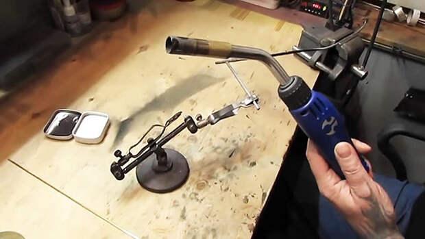 Технология пайки латунью