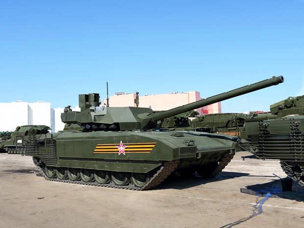В США назвали российский танк, способный бросить вызов НАТО