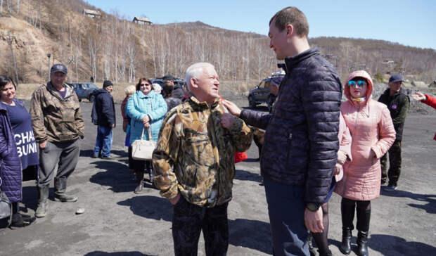 Ситуация в Николаевском районе под контролем региональных властей