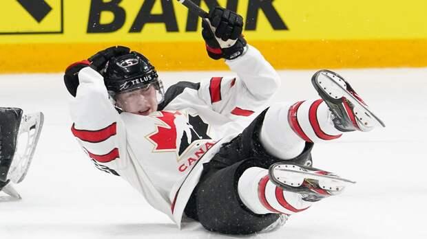 Канада проигрывает всем подряд! «Кленовые листья» 50 минут пытались догнать немцев, но снова остались ни с чем