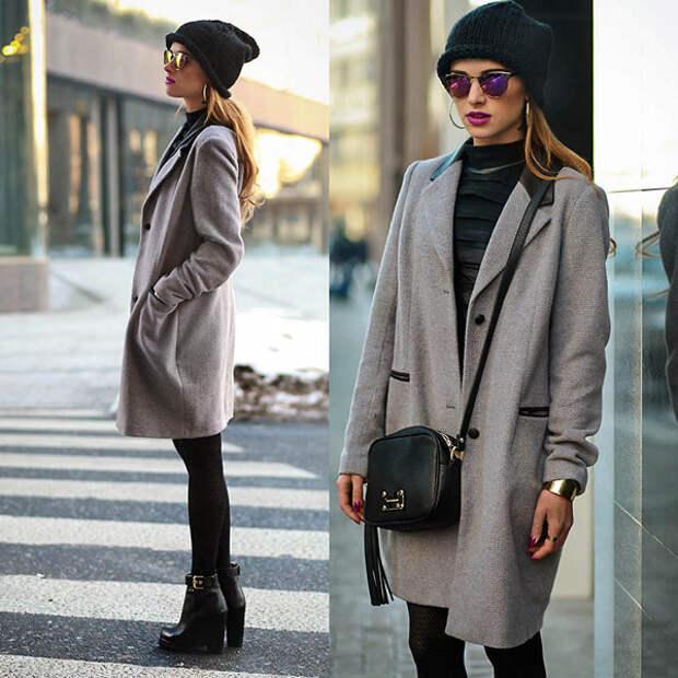 Девушка в черной шапке