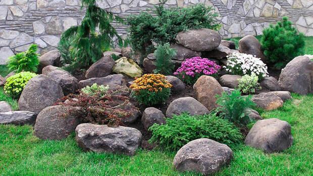 Как подобрать нужные камни для сада