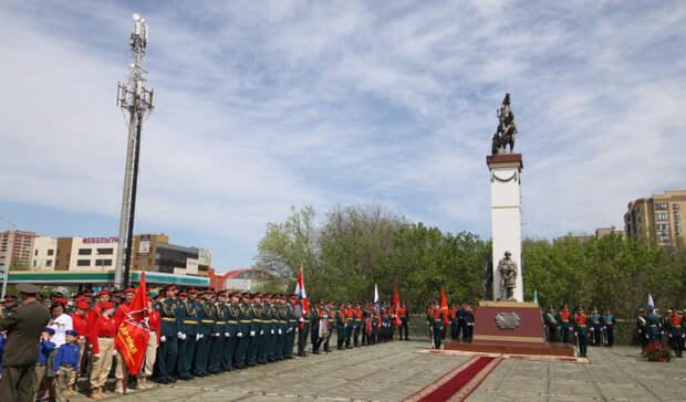 Стела с летописью Южного военного округа появилась в Ростове