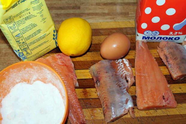 Лимон использовать не обязательно, но я сбрызнул им рыбу перед приготовлением