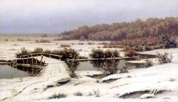 ВОЛКОВ Ефим - Первый снег.jpg
