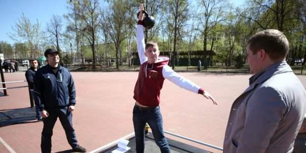 Команда Коптева стала лучшей в сдаче норм ГТО