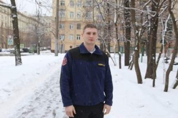 Спасатель-доброволец Денис Левин / Фото: Ярослав Чингаев