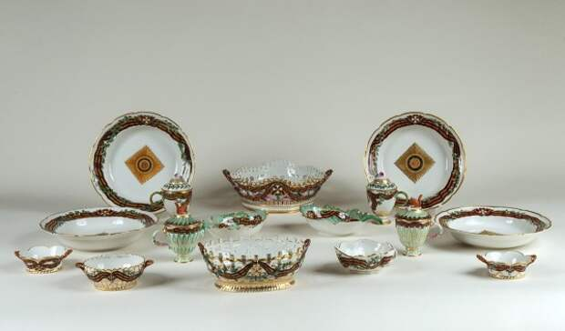 Objects from the Order of St George Service - Virtual Russian Museum