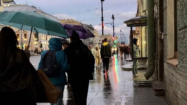 Циклон из Архангельска определит погоду в Петербурге