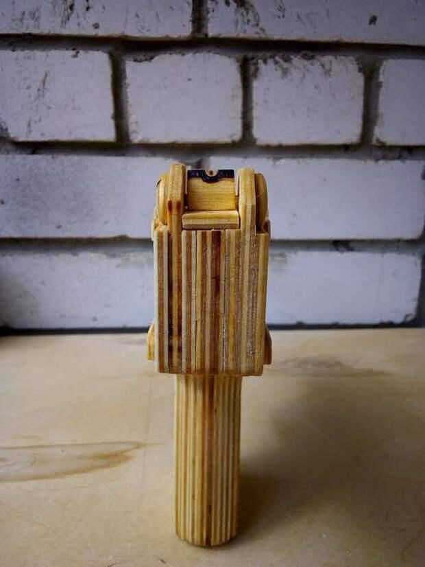 Микро-узи из фанеры (50 фото + 1 видео)
