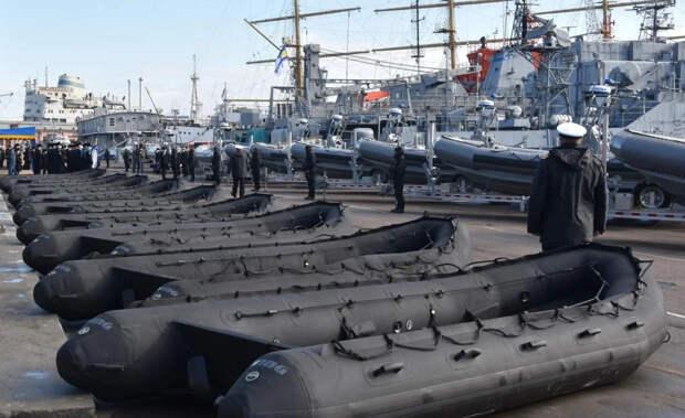 Надувные подарки для Киева: как США модернизируют украинский флот